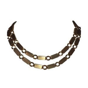 Pierre Cardin Runway Chain Link Necklace